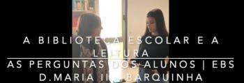Manuela Pargana Silva conversa com Catarina Antunes da EBS D. Maria II