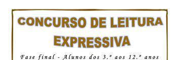 Bibliotecas do Agrupamento de Escolas de Vila Nova da Barquinha promovem concurso de Leitura Expressiva