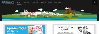 Inauguração de Portal da Rede de Bibliotecas de Vila Nova da Barquinha