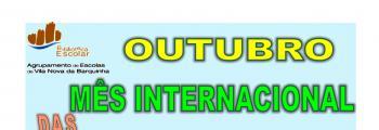 Outubro, Mês Internacional das Bibliotecas Escolares